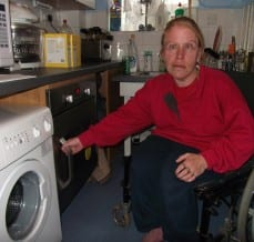 New Kitchen Creates Independence for Wheelchair User
