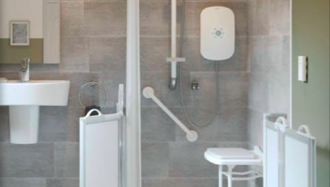 Case Study: NKS Contracts   Retrofitting social housing showers
