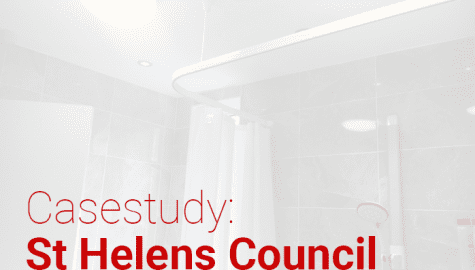 Accessible lighting changes lives in St Helens, Merseyside